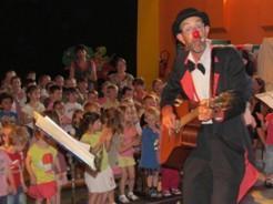 Spectacle de clown pour enfants : Le développement durable à Amiens (somme)