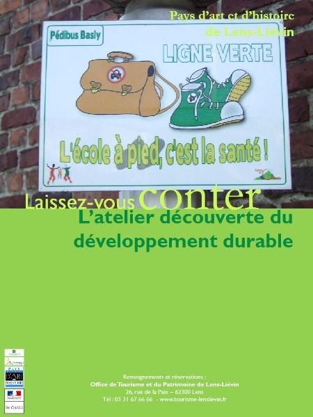 Spectacle pour enfants : Atelier découverte du développement durable.