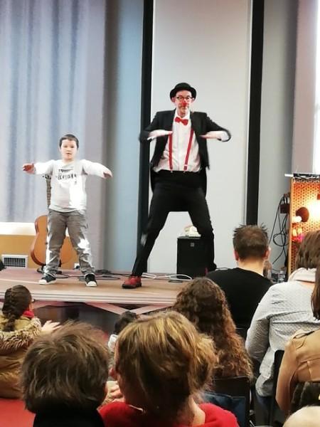 Spectacle pédagogique scolaire - écoles maternelles et écoles primaires - Lille