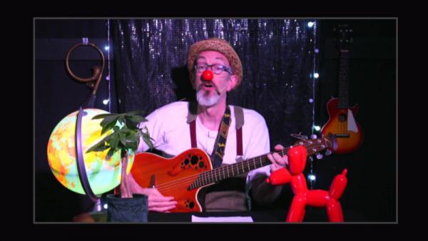 Sirouy le clown dans ses LIVE - Bricolage - Astuces - Experiences - Chansons écolos