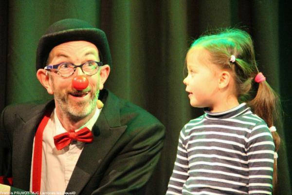 Spectacle de Sirouy le clown à Lambres lez Douai