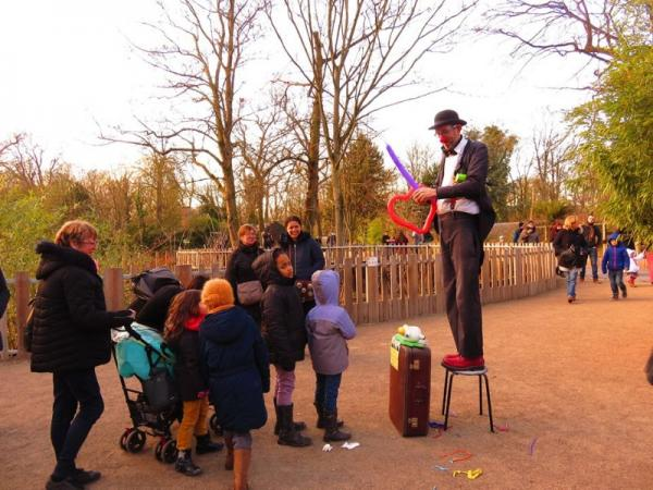 Spectacle enfants : Sirouy le clown au Zoo de Lille !!!